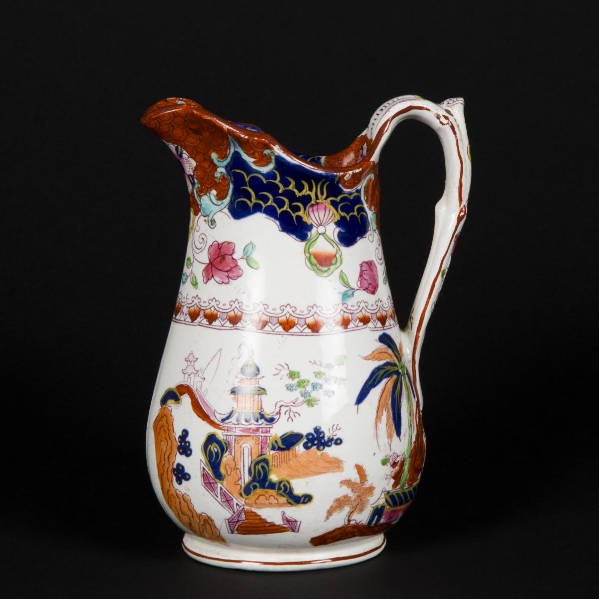 Carafe en porcelaine, XIXe