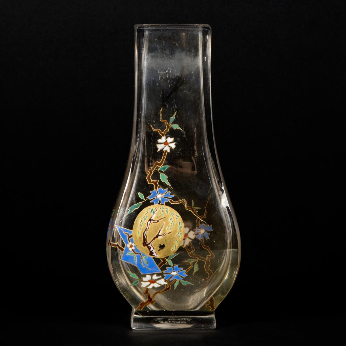Escalier de Cristal, Vase Japonisant, XIXe