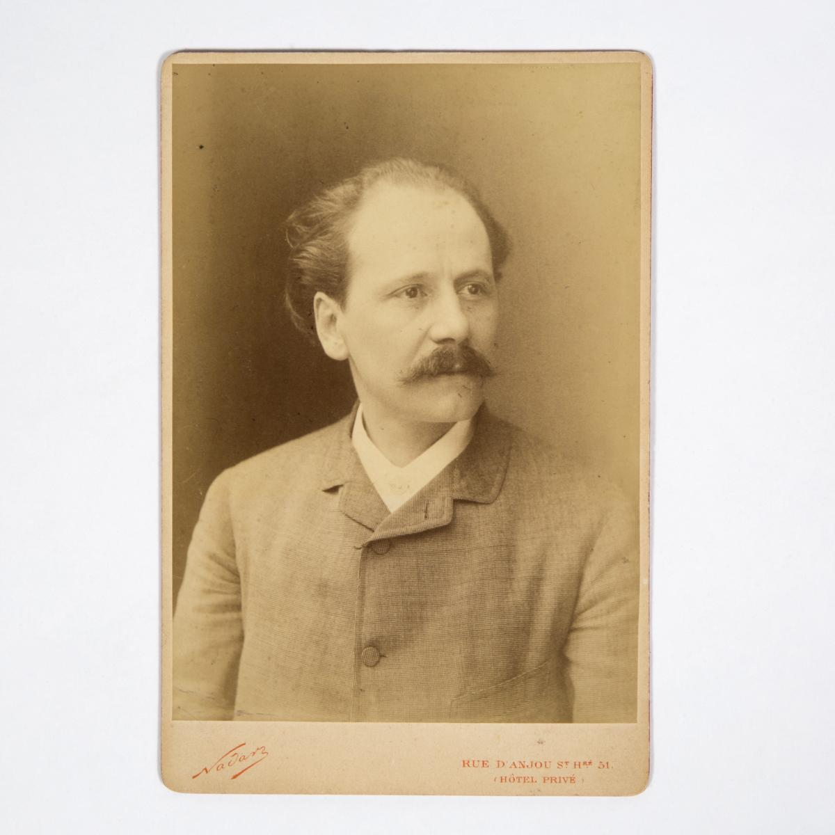 Nadar (1820-1910), Portait de Jules Massenet