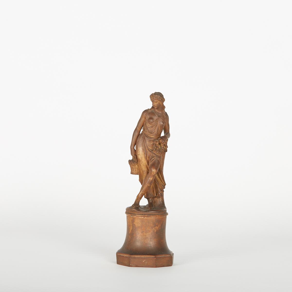 Terre Cuite, Femme à l'Antique, XVIIIe