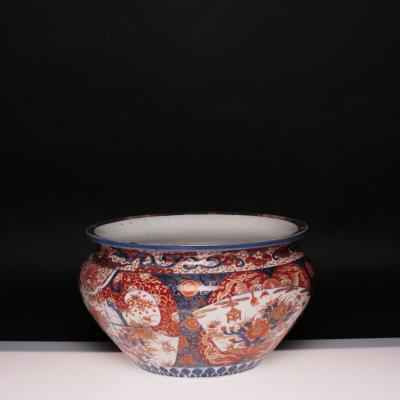 Manufacture d'Imari, Cache-pot, fin XIXe, début XXe