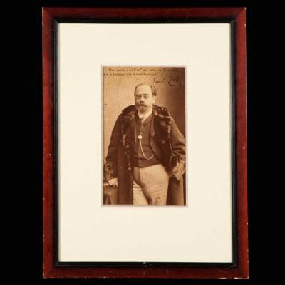 Nadar, Portrait d'Émile Zola, XIXe