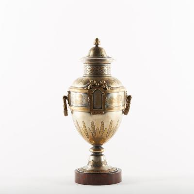 """Vase urne """"Agriculture"""", XIXe"""