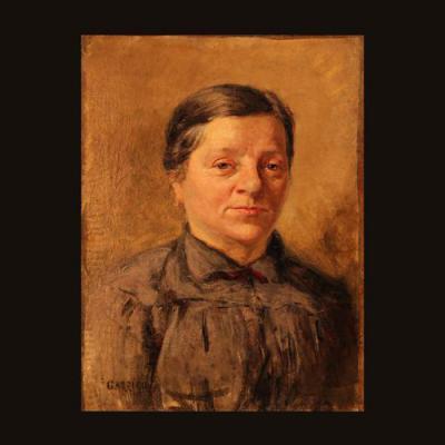 """Louis Edouard Garrido (1893-1982), Huile sur toile """"Portrait de Femme"""", XXe"""