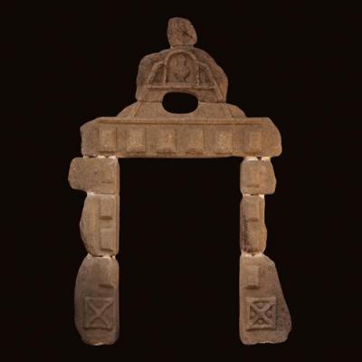 Porte de commanderie templière en pierre taillée, X - XIe