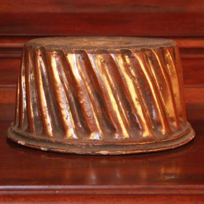 Moule à gâteau en terre cuite, XIXe