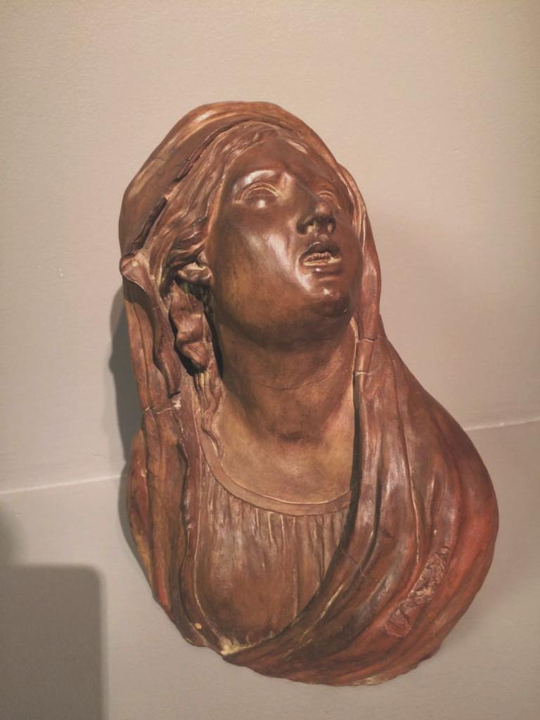Bust Terracotta Original Debut XIX