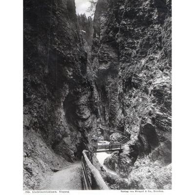 Photos Tirage Gelatino-bromure 1900 Verlag Von Stengel And Co 2740
