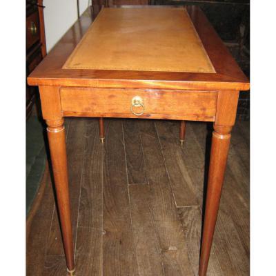 Petite Table à écrire,en Acajou, Fin De l'époque Louis XVI.