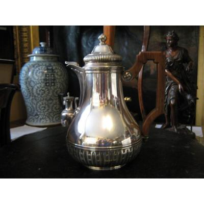 Silver Coffee Maker