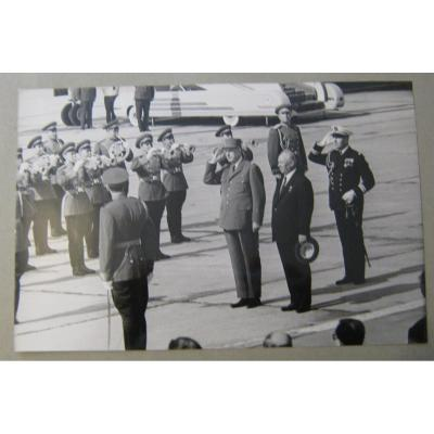 Visit Of Charles De Gaulle In Ex Ussr In June 1966. Album Of 49 Period Photos.