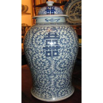 Porcelain Vase In China Early Eighteenth Century.
