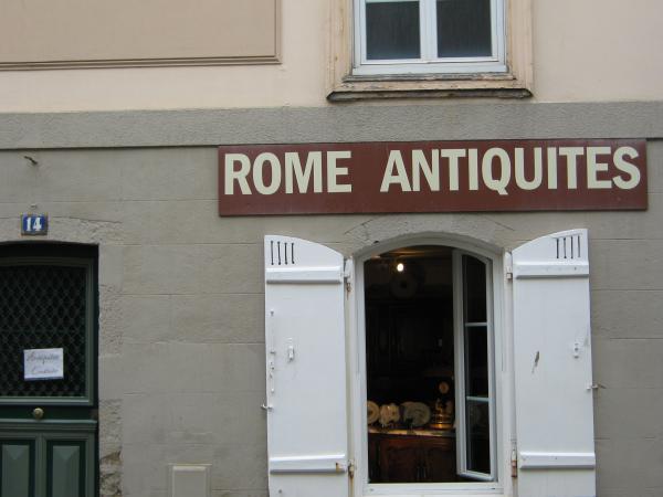 Rome Antiquités