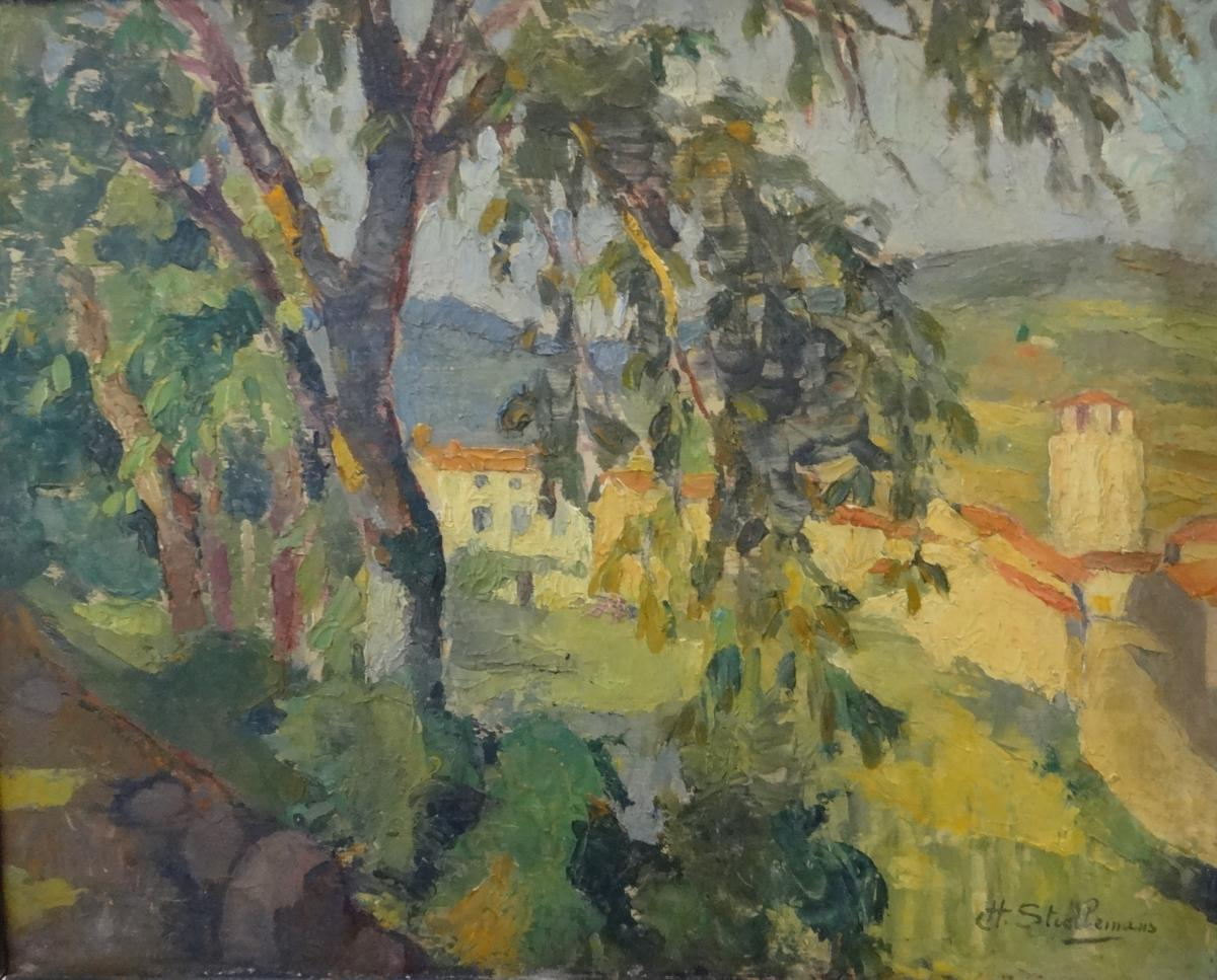 H. Stiellemans Oil On Panel