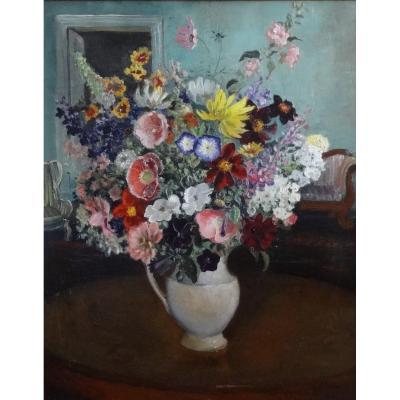 Jean Govaerts - Oil On Canvas - Belgian School - 1946