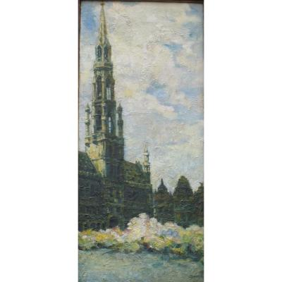 Oil On Canvas - Signed Leopold Hendrickx - Belgian School - XX Eme