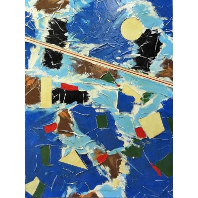 Abstract - Mixed Composition - On Panels - Unsigned