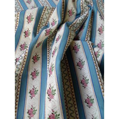 Woven Fabrics Old Style Marie Antoinette Jacquard Silk And Cotton