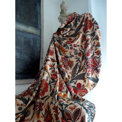 An Indian Printed Fabric  Hanging Late Nineteenth