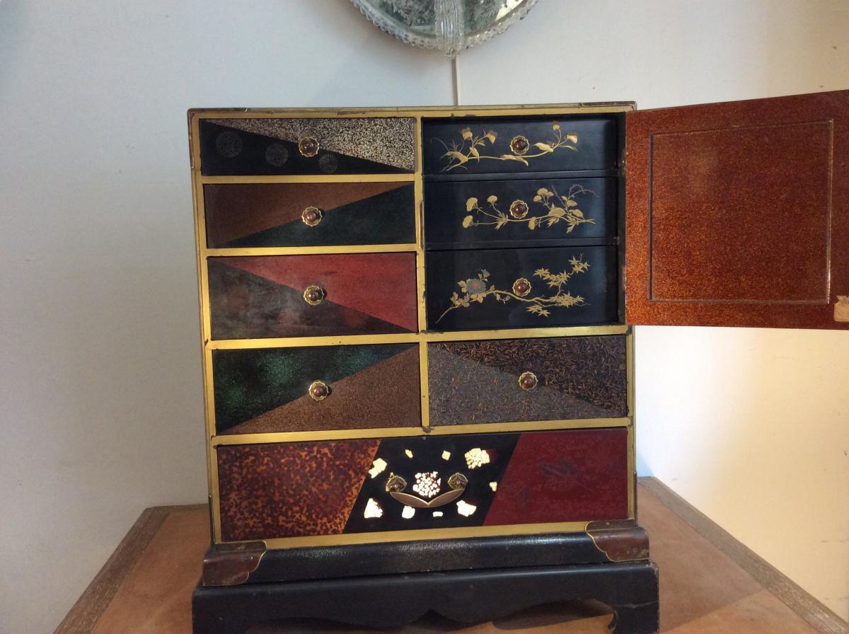 Cabinet Japonais époque Meiji