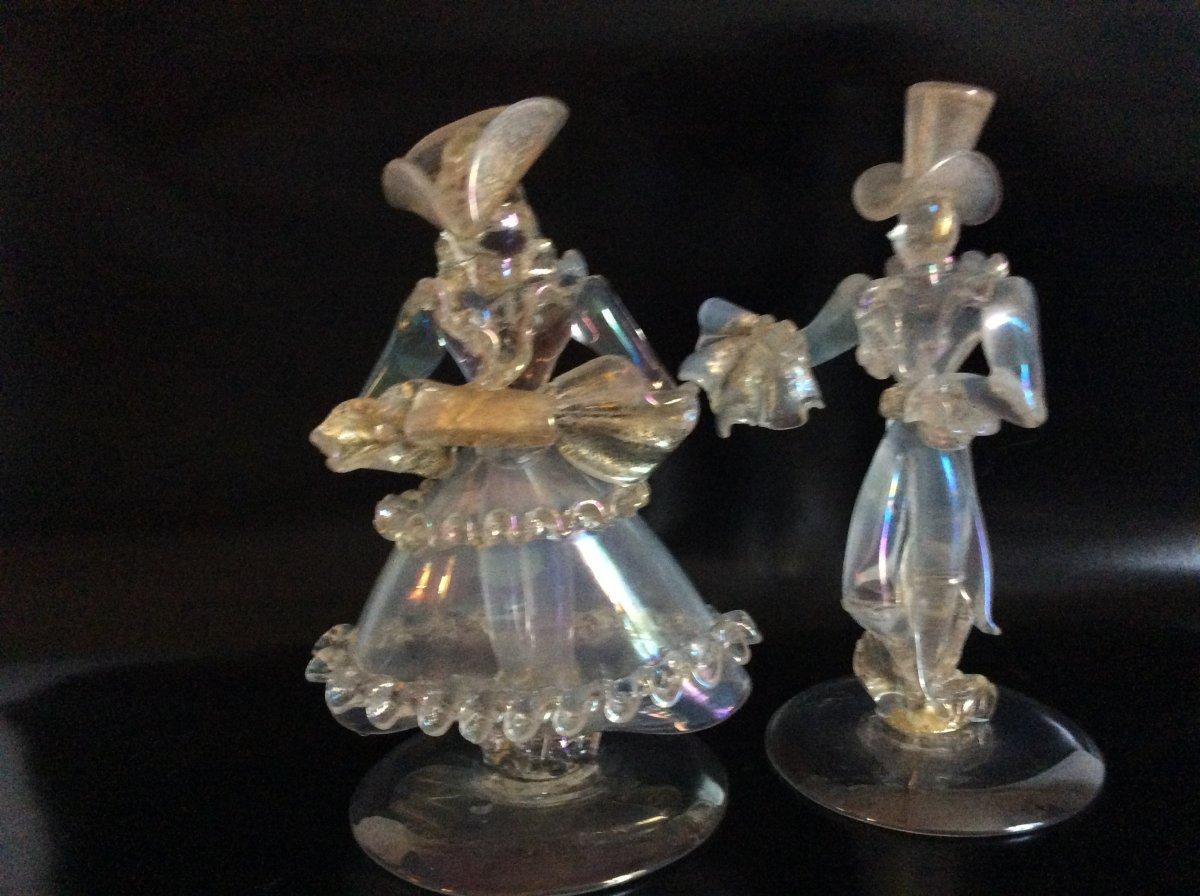 Murano Glass Couple XX S