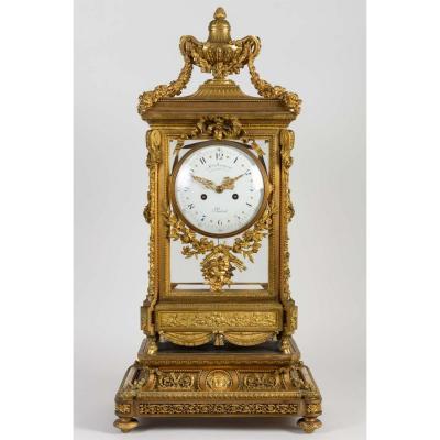 Large Clock, Louis XVI Style, XIXth Century