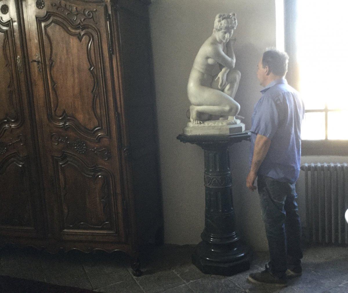 Sculpture du grand tour  Venus sortant du bain