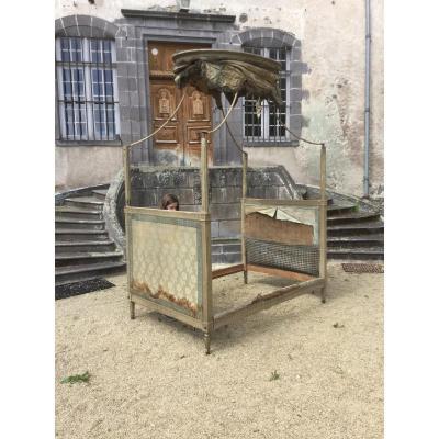 Polish Style Bed Louis XVI