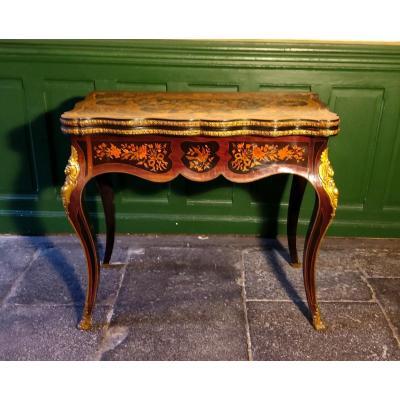 Table à Jeux époque Napoléon III