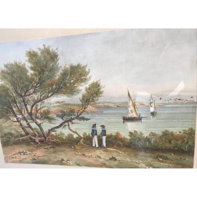 Watercolor Marine Raibaud