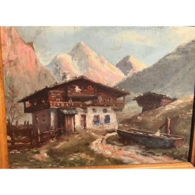 Peinture De Montagne