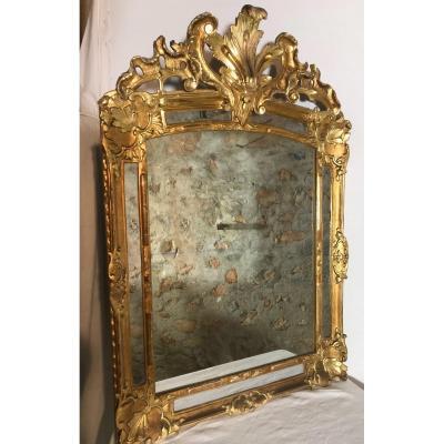 Miroir Louis XIV Doré
