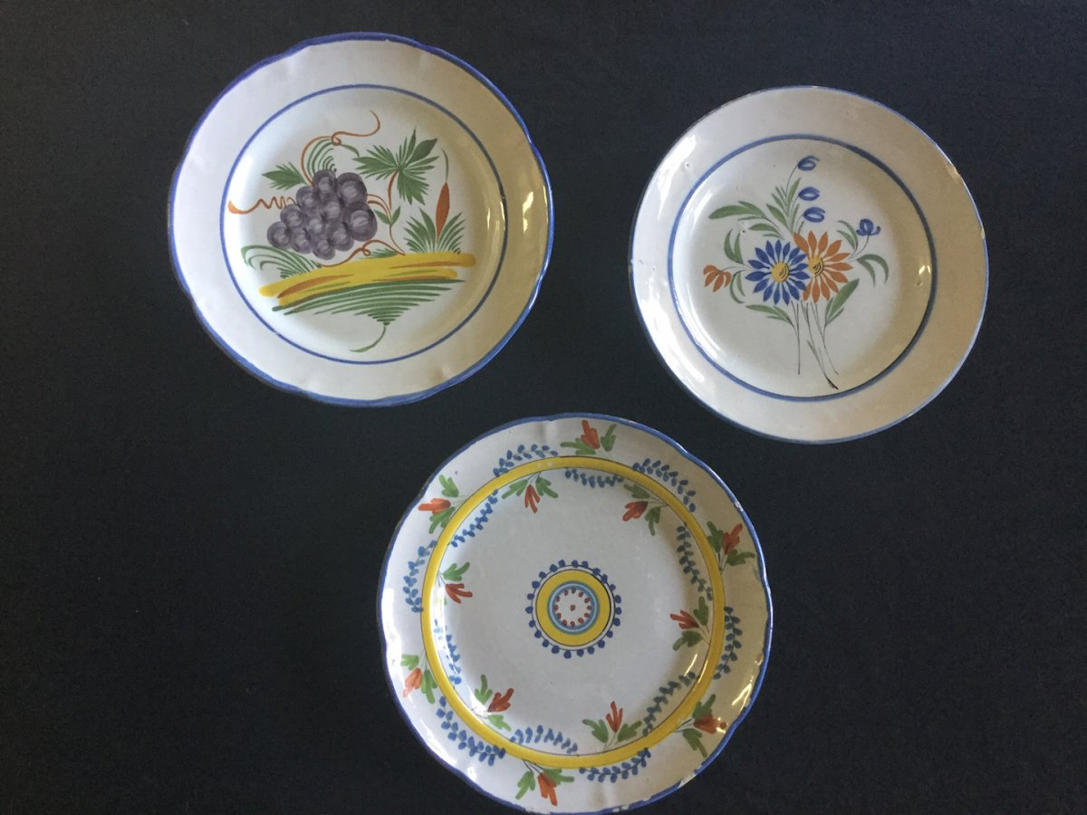 Assiettes Waly