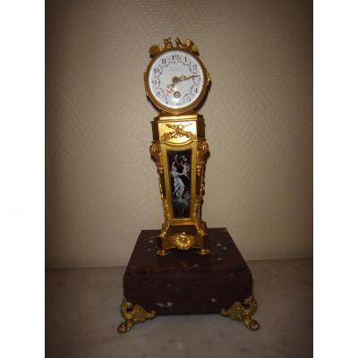 Horloge de Parquet Miniature XIX Siècle