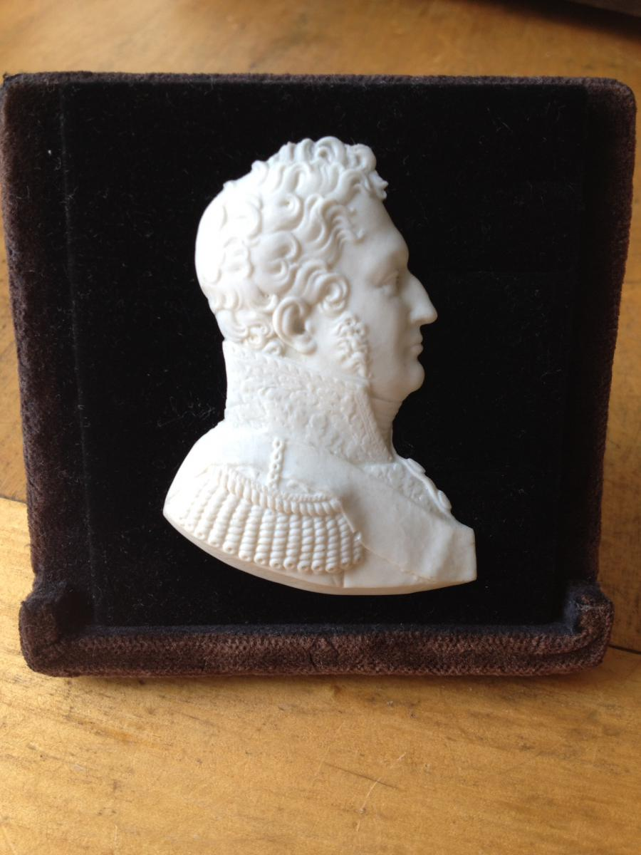 Sevres Biscuit Profile King Louis-philippe