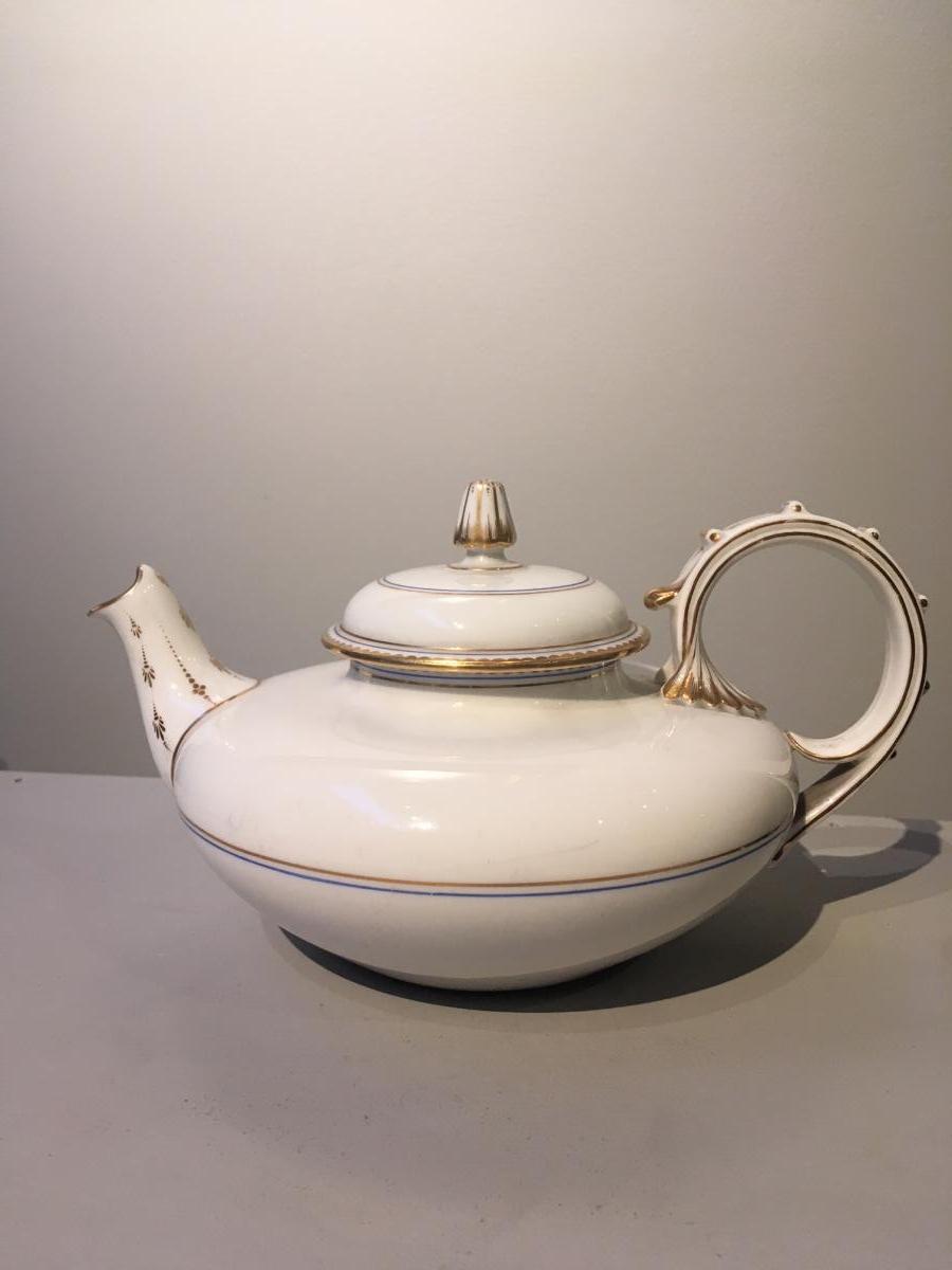Théière En Porcelaine De Sèvres d'époque Napoléon III