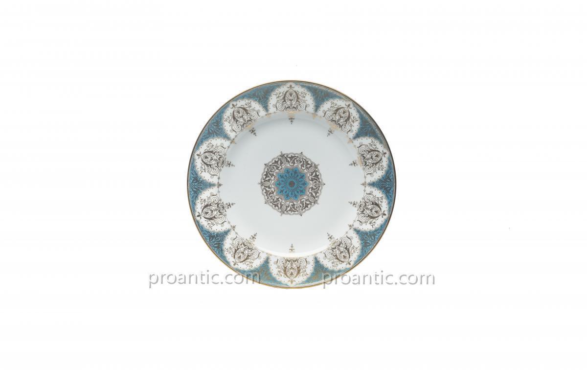 Assiette en Porcelaine de Sèvres Provenant du Service du Roi Louis-Philippe