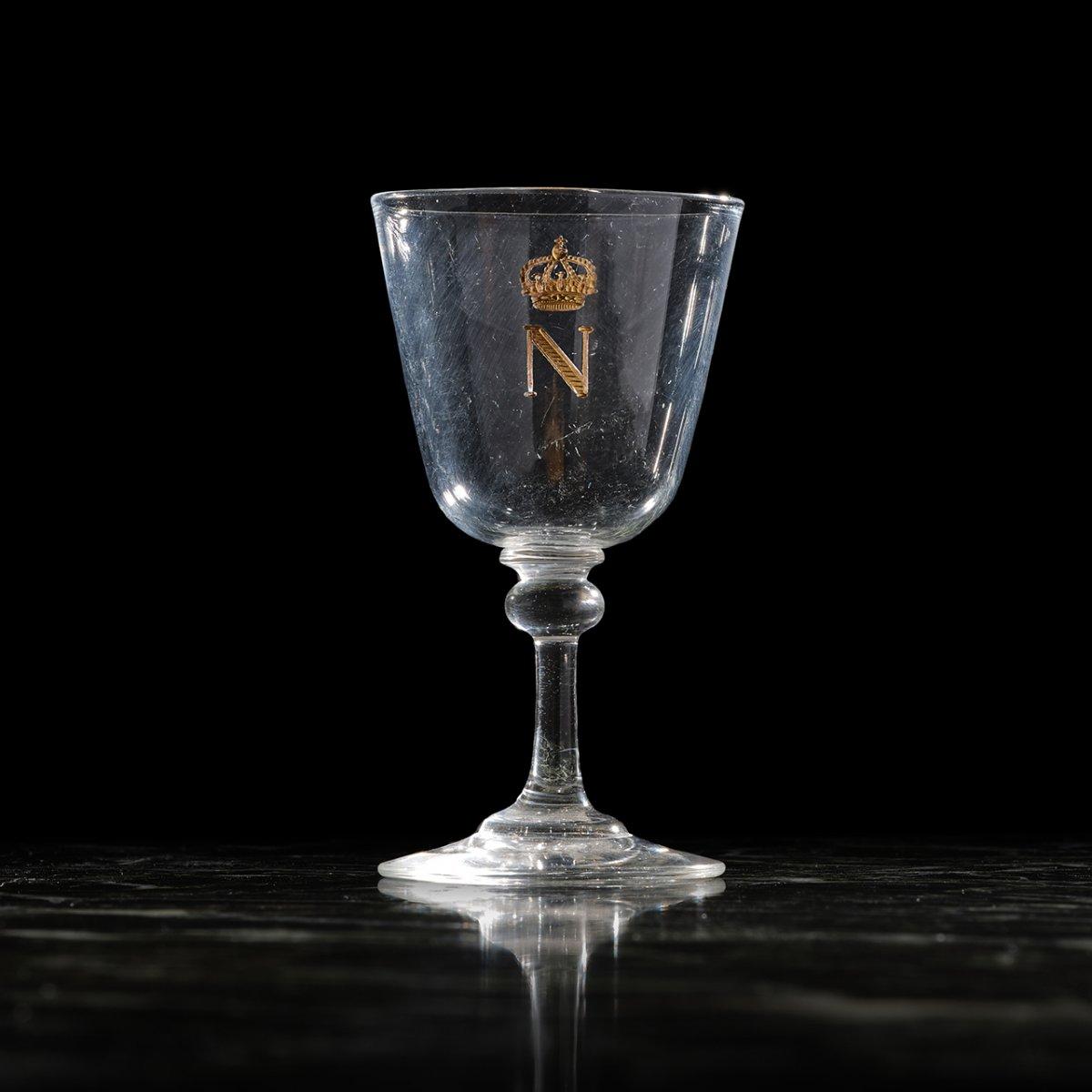 Verre à Liqueur Provenant Du Service De Table De Napoléon III