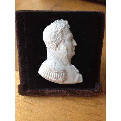 Biscuit Sèvres Profil Roi Louis-Philippe