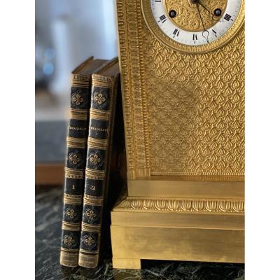Deux ouvrages aux armes du roi Louis XVIII - Poème par Jacques de Lille, 1819