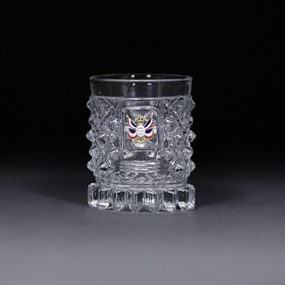 A Cut Crystal Beaker Commemorating The July 1830 Revolution By The Baccarat Crystal Factory