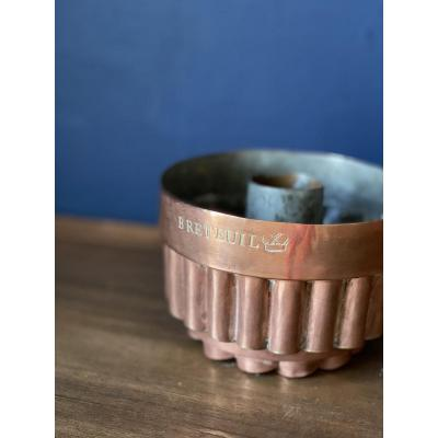 Copper Cake Mold From The Château De Breteuil
