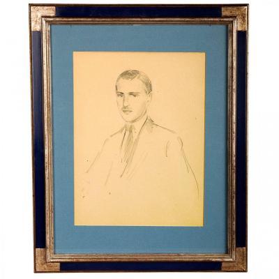 Double Portrait Of Grand Duke André Of Russia By Nicolas Paganiotti Zarokilli (1879-1945).