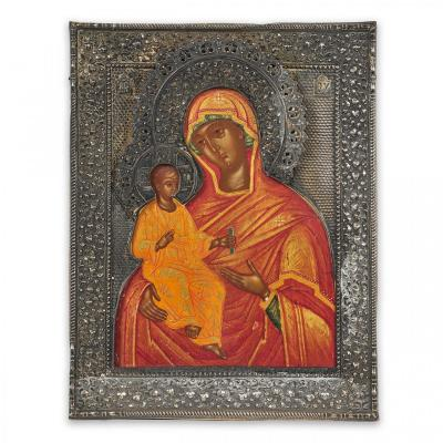 Icon Of The Mother Of God Of Alexandria, Russia, Moscow