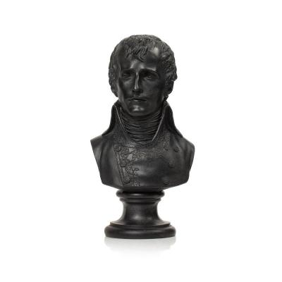 Buste De Napoléon Bonaparte Premier Consul En plâtre patiné d'Après Louis Simon Boizot