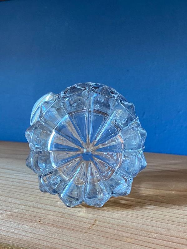 Gobelet En Cristal Moulé Et Taillé Orné d'Un Cristallo-cérame Au Profil Du Duc De Berry-photo-4