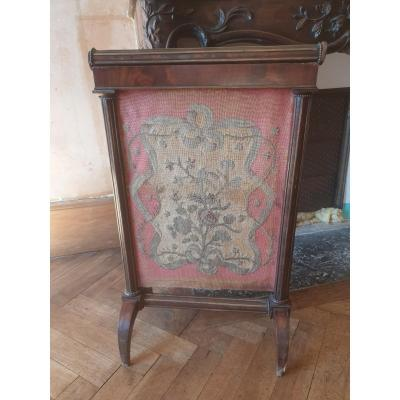 Directoire Fireplace Screen To Restore