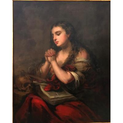 José Gutierrez de la Vega, (Sevilla, 1781-Madrid, 1865). Marie Madeleine