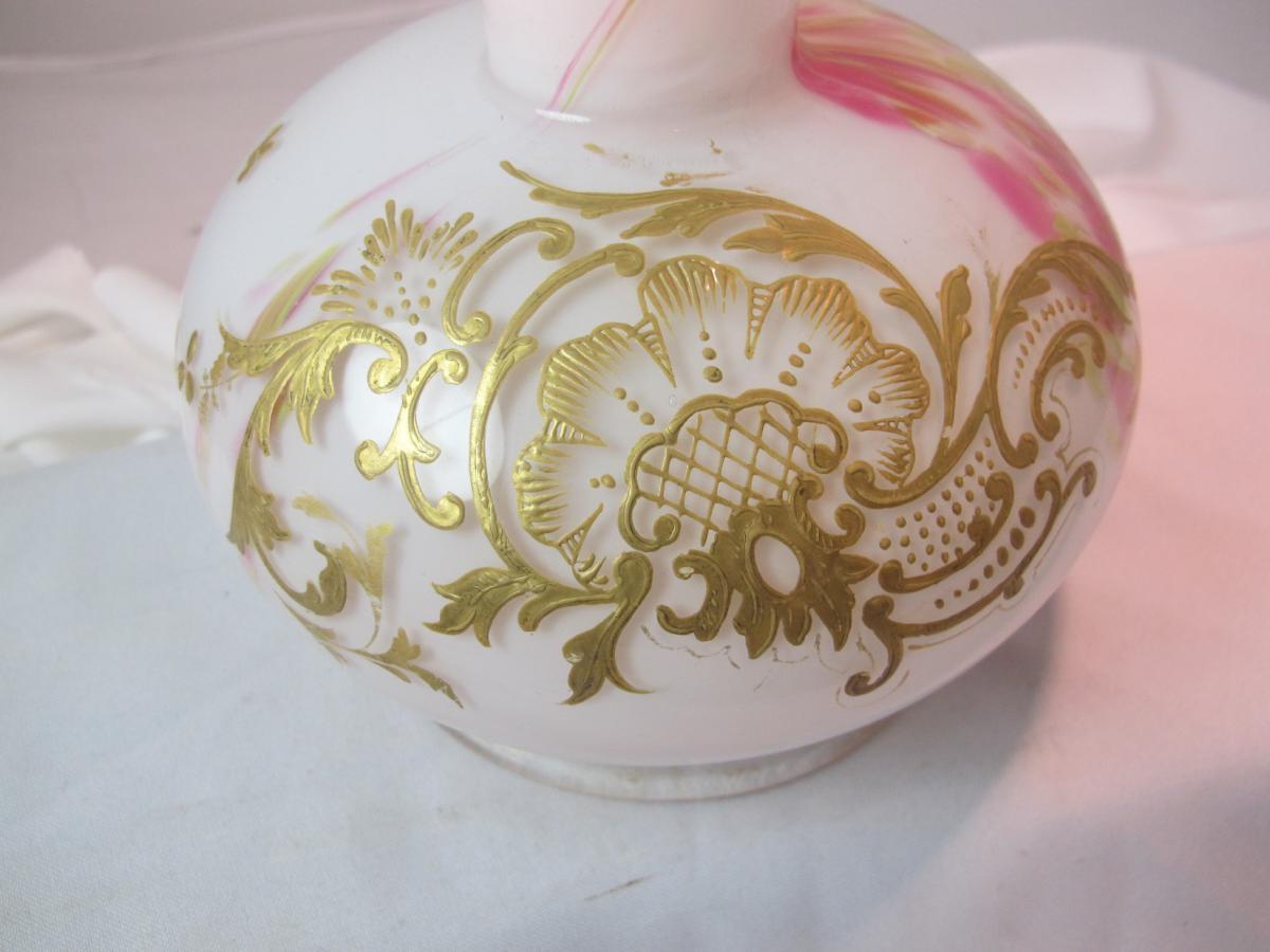 Vase De Verre XIXe-photo-2