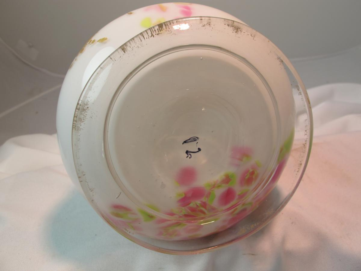 Vase De Verre XIXe-photo-3